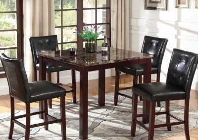Ducey Coaster Counter Height Dining Group