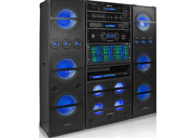 Pro 3500 watt Audio Entertainment Rack System